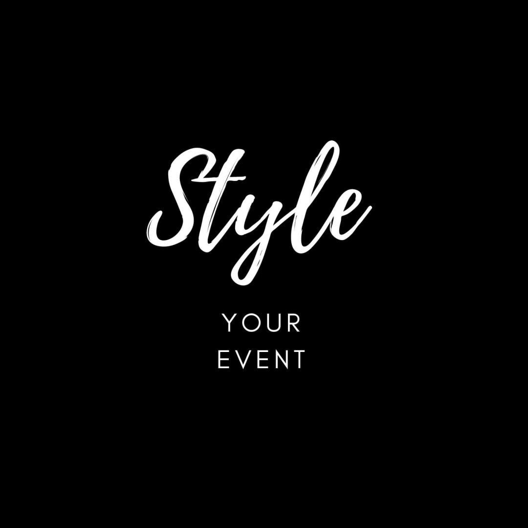 ⭐️ Style Your Event ⭐️